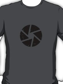Iris Logo, black T-Shirt