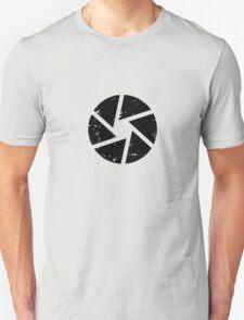 Iris Logo, black T-Shirt