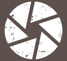 Iris Logo, White Baby Tee