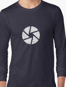 Iris Logo, White Long Sleeve T-Shirt