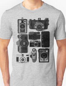 Old Cameras Unisex T-Shirt