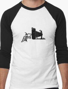 Old School Shooter Men's Baseball ¾ T-Shirt