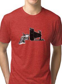 Old School Shooter Tri-blend T-Shirt
