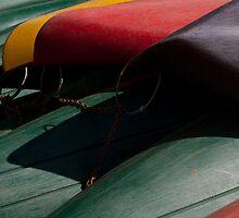 Canoe Hulls 2 by Syd Winer