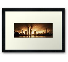 IntenCity Framed Print