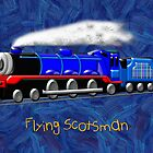 Flying Scotsman for Kids by Dennis Melling