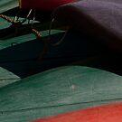 Canoe Hulls 3 by Syd Winer