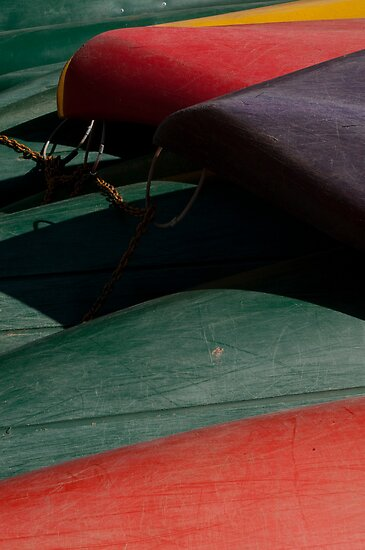 Canoe Hulls 3 by Syd Winer