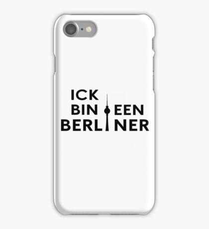 Ick bin een Berliner iPhone Case/Skin