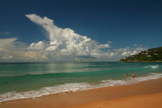 This Is Australia .. Barrenjoey Beach by Michael Matthews