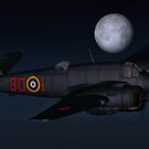Bristol Beaufighter Nightfighter by Walter Colvin