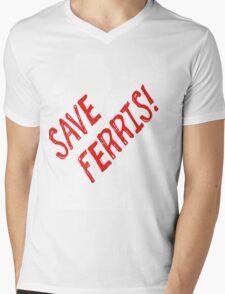 I Guess It's Pretty Serious Mens V-Neck T-Shirt