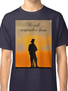 We will remember them Classic T-Shirt