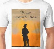 We will remember them Unisex T-Shirt