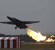 F-111C Dump & Burn by Adam Burr