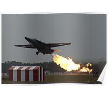 F-111C Dump & Burn Poster