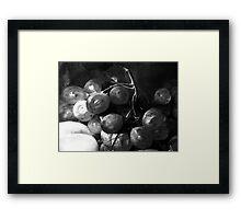 Grape & Peach Framed Print