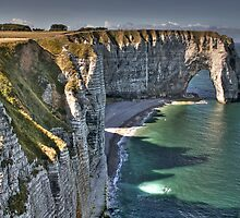 Normandy's White Cliffs - Etretat by paolo1955