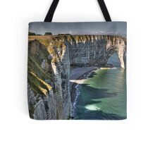 Normandy's White Cliffs - Etretat Tote Bag