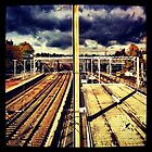 Alexandra Palace Train Station by lanesloo