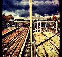 Alexandra Palace Train Station by lanesloo