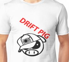drift pig. JDM style Unisex T-Shirt