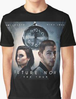 DEMI LOVATO NICK JONAS FUTURE NOW SPECIAL Graphic T-Shirt