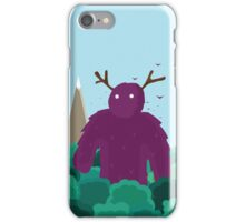 Life Swarms with Innocent Monsters iPhone Case/Skin
