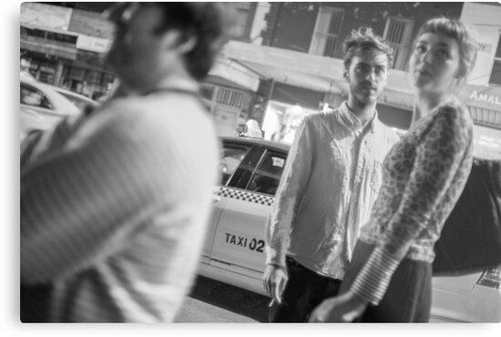 Melbourne Night by John Violet