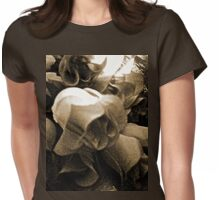 The Solemn Roses Womens Fitted T-Shirt