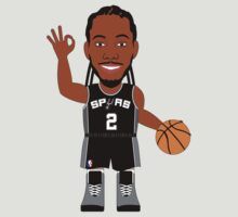 NBAToon of Kawhi Leonard, player of San Antonio Spurs by D4RK0
