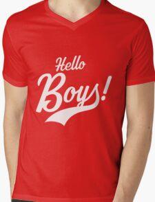 Hello Boys! Mens V-Neck T-Shirt