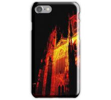 York Minster, Gothic light. iPhone Case/Skin