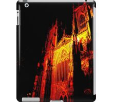 York Minster, Gothic light. iPad Case/Skin