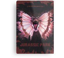 Jurassic Park alt Movie Poster Metal Print