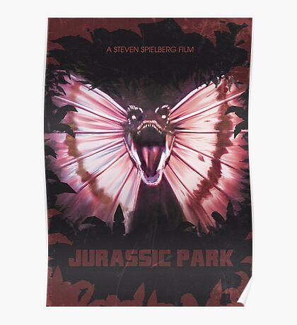 Jurassic Park alt Movie Poster Poster