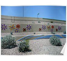 Let the desert bloom Poster