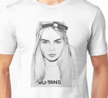 Cara Delevingne Drawing Unisex T-Shirt