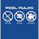 Pool Rules (Print Version) by Rodrigo Marckezini