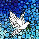 Peaceful Journey - Hope Art by Sharon Cummings