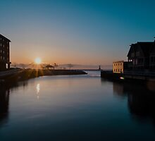 Sunrise Reflection by James Meyer
