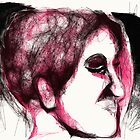 Head & Foot Study -(070413)- Digital art/mouse drawn/Program: Harmony by paulramnora