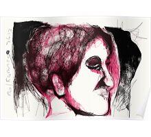 Head & Foot Study -(070413)- Digital art/mouse drawn/Program: Harmony Poster