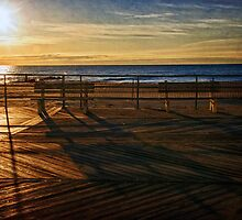 Greetings from the Asbury Park Boardwalk by Debra Fedchin