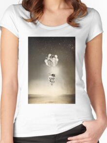 The Spaceman Women's Fitted Scoop T-Shirt
