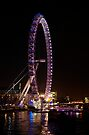 The London Eye  by Jeannie  Mazur