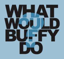 What Would Buffy Do? by Jo Alfie Wimborne