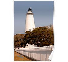 Ocracoke Lighthouse of NC Poster