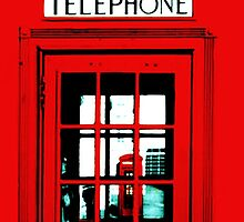 London telephon box by Leti Mallord
