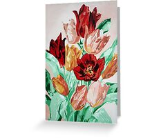 A Tulip Collection Greeting Card